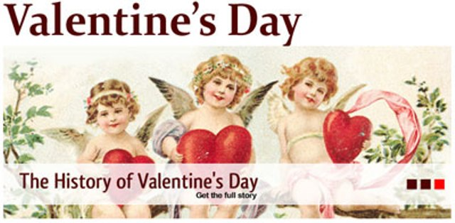 fact friday - valentine's day history - velocity, Ideas
