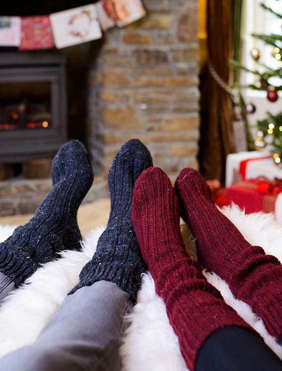 Winter Wool Socks,